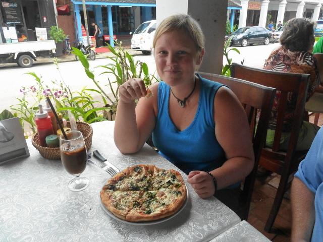 My yummy Pizza!
