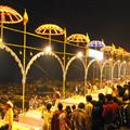 Puja on main ghat
