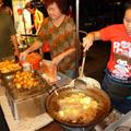 Food stand at night market - yummy !