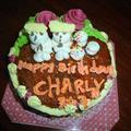 My tasty birthday cke from Pierre!