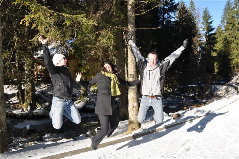 Jumping in Liptovský Mikuláš