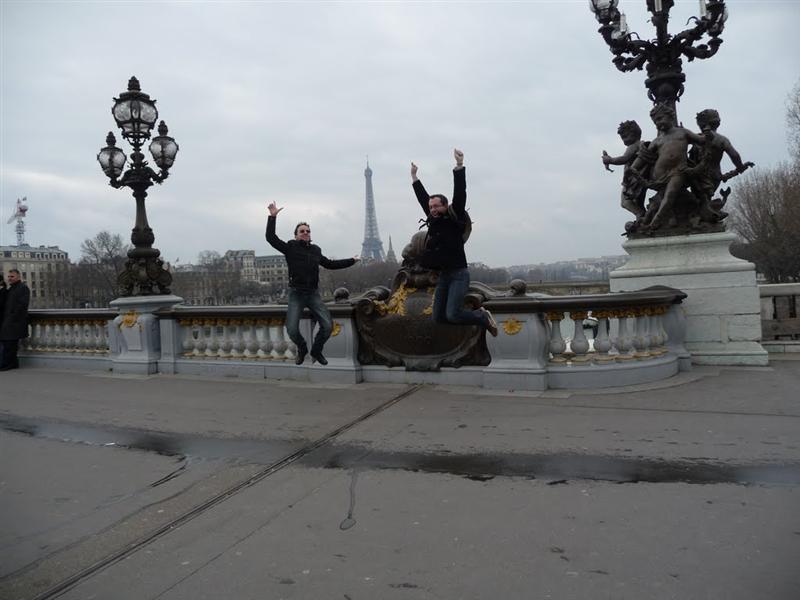 Jumping on Alexander Bridge