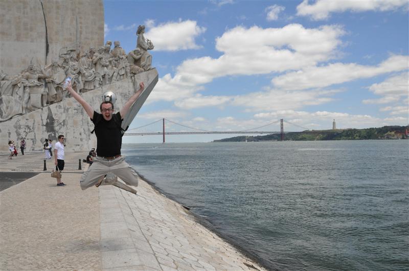 Jumping in Belém