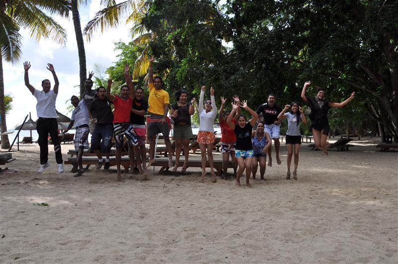 Team Building Jumping