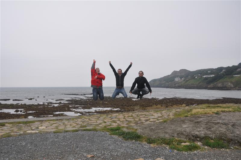 Jumping in Howth