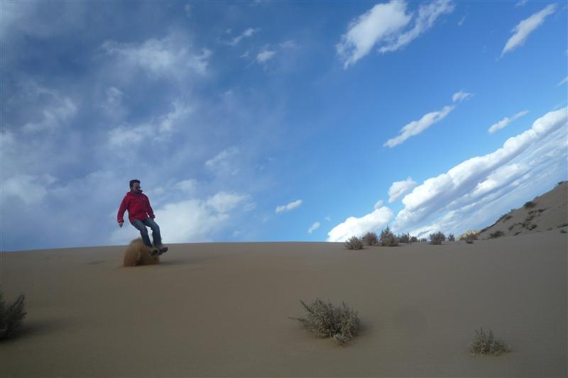 Dune Jumping in mini Gobi