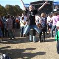 Jumping in Rock en Seine Festival