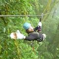 Ziplining in Rain Forest