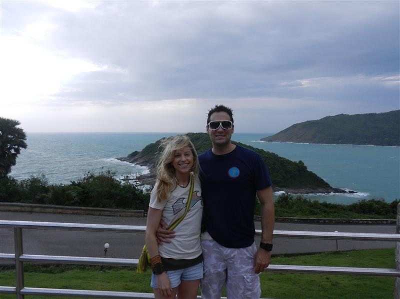South tip of Phuket - best place to watch the sunset