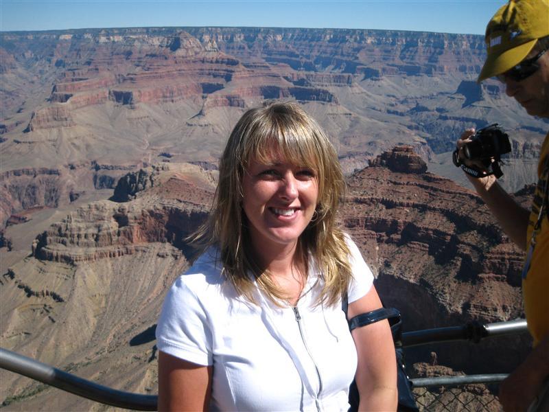 Kelly at the Grand Canyon