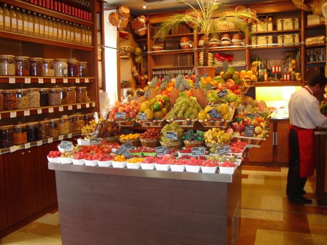 Fruit at Hediard