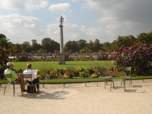 Beautiful Luxembourg Gardens