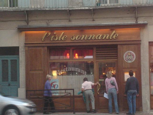 The best restaurant in France....for us