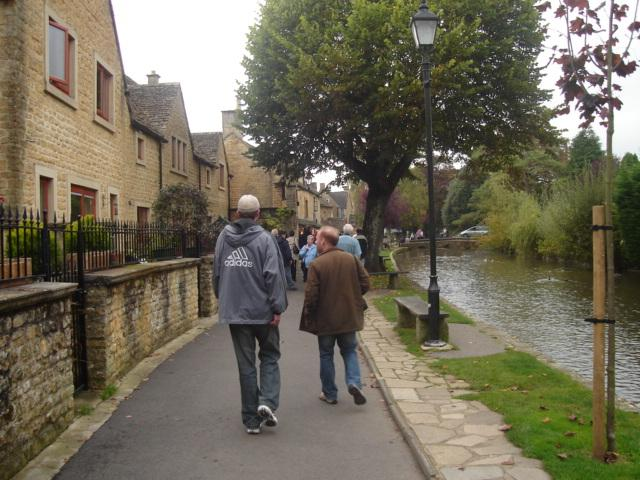 Strolling through the Cotswolds