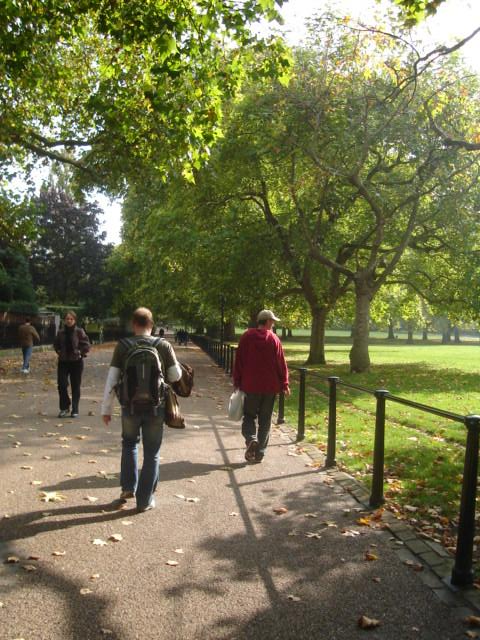 Strolling in St James' Park