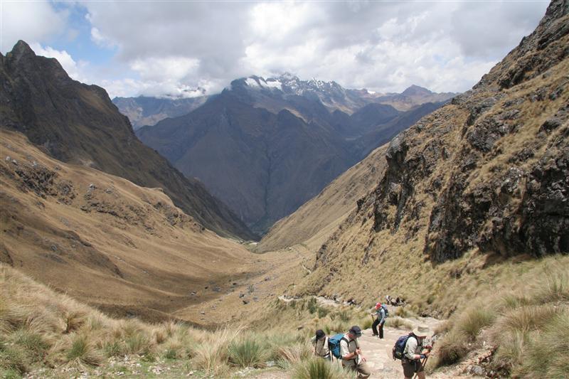 View from Warmiwanuska - at 4200 meters !!!