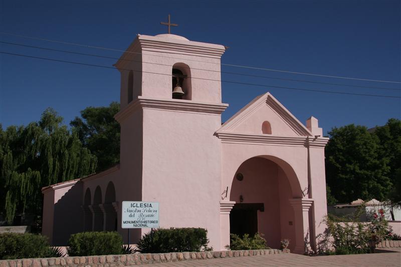 Hualfin`s church