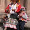 Typical peruvian costume