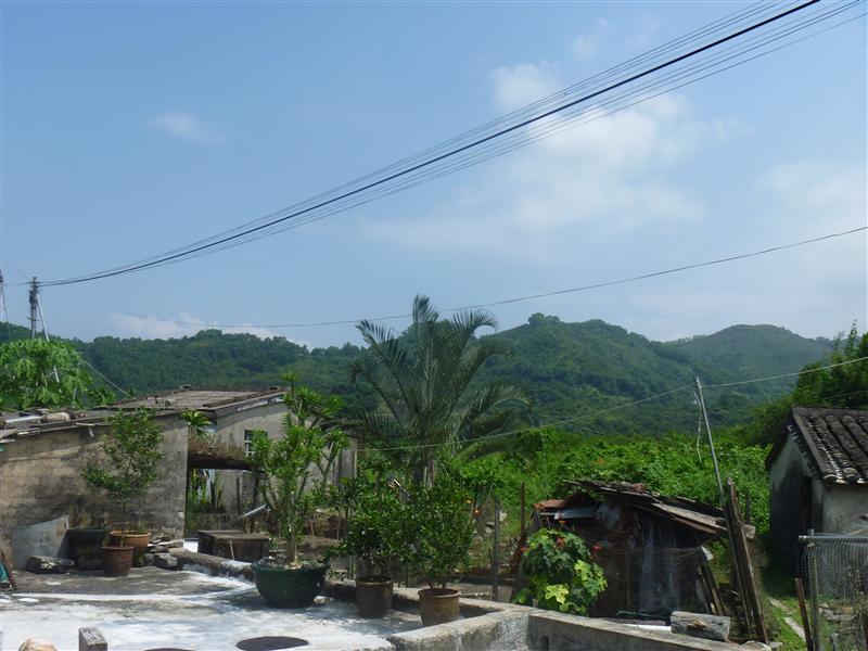 Luk Keng Village, surrounding view