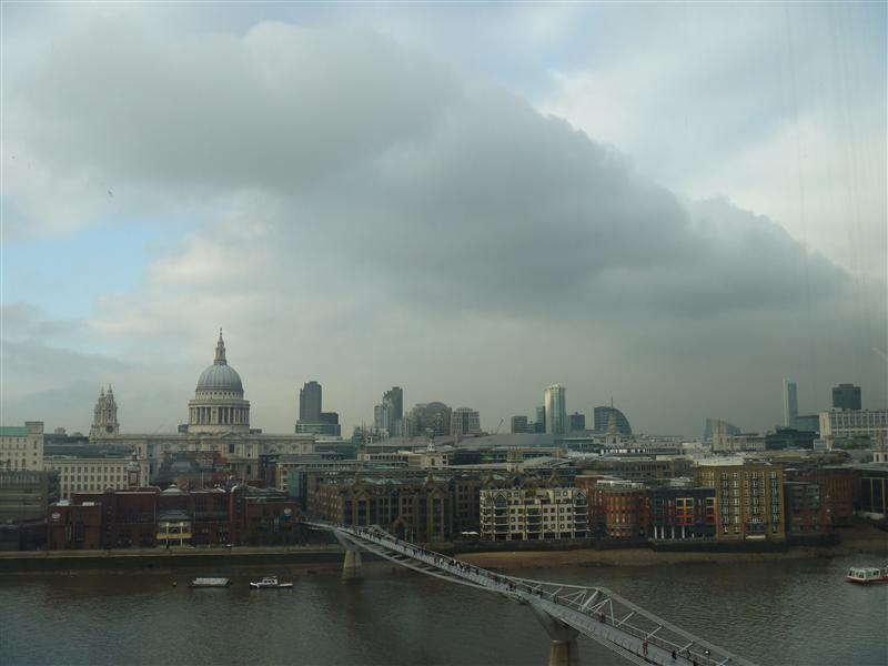 St Pauls Cathedral and sky