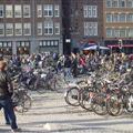 bikes in the main square