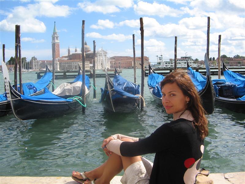 Ciao! Io sto a Venezia.