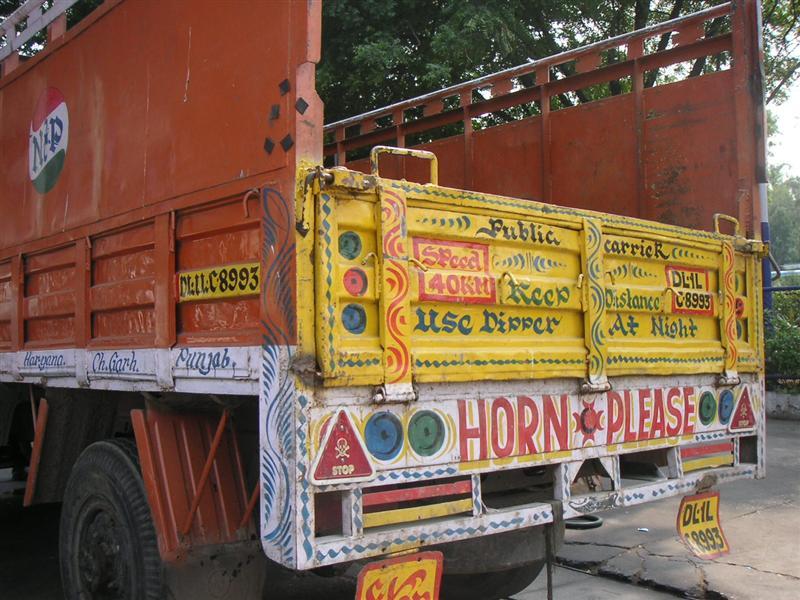 Horns going aaaaaaaall the time here!!!
