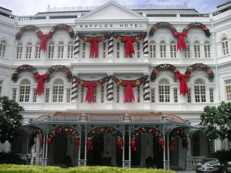 Raffles Hotel, The original makers of the Singapore Sling..