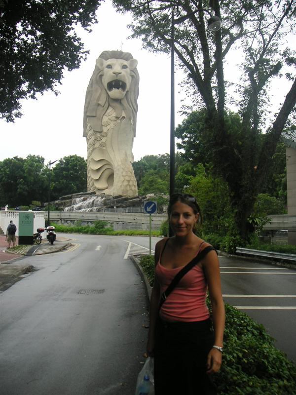 The Merlion, symbol of Singapore