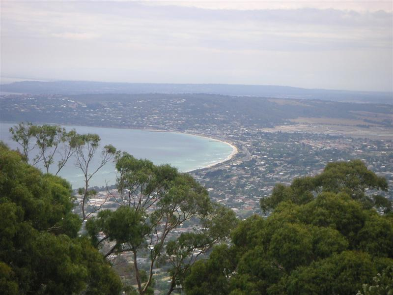 View over towards Melbourne from Arthurs Seat