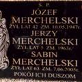 Merchelski Headstone