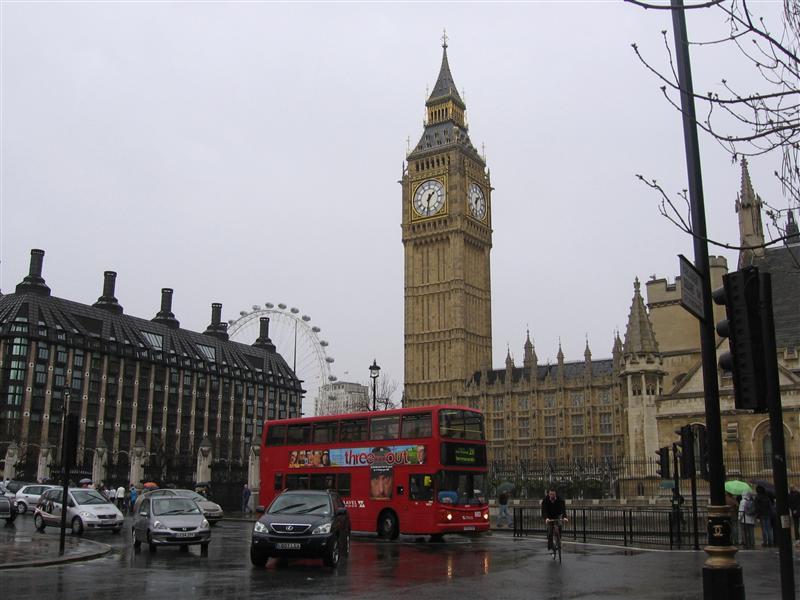 Big Ben is in the Clock Tower