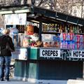 crepe vendor on Champs-Elysses