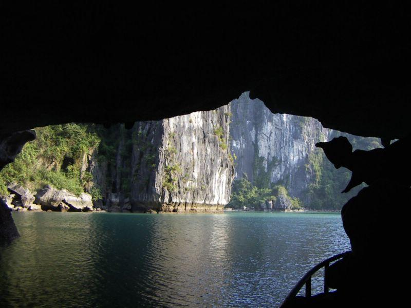 Cave on Halong Bay
