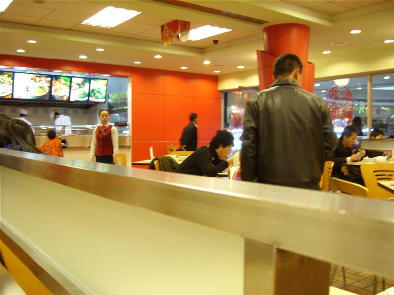 A restaurant in ShenZhen