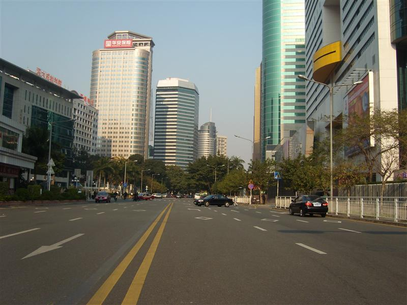 Streets of ShenZhen near Diwang