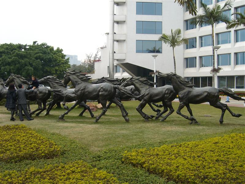 HORSES IN NANSHAN