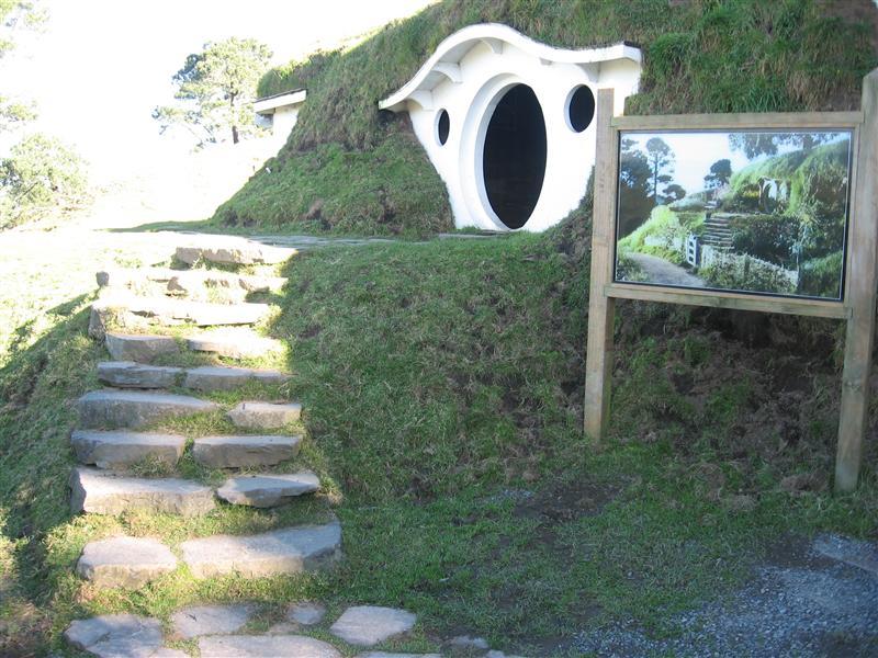 Bag End - Bilbo and Frodo's house
