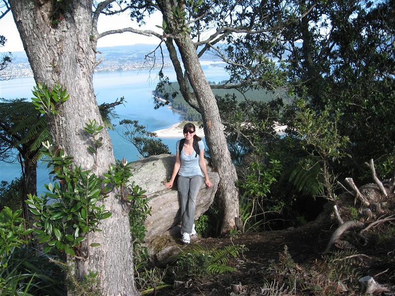 Ang on Mount Maunganui