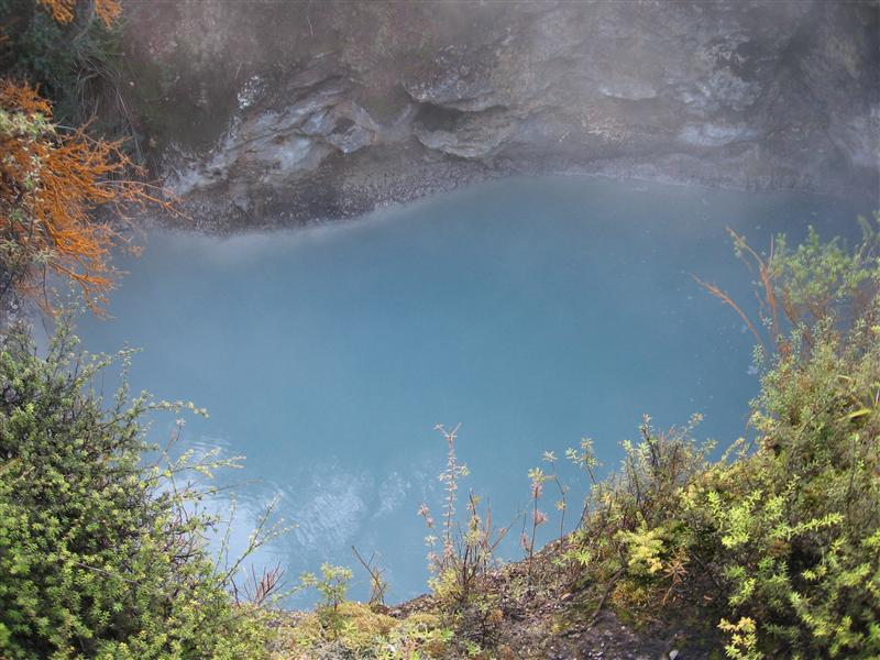A Sulphur pool