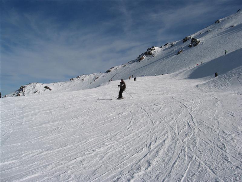 Ollie skiing, Mt Hutt