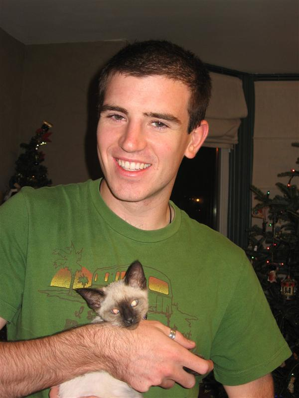 Me and Joey the kitten