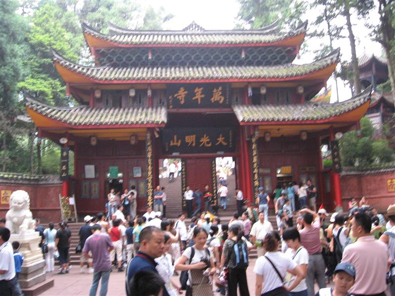 Temple on Mount Emei