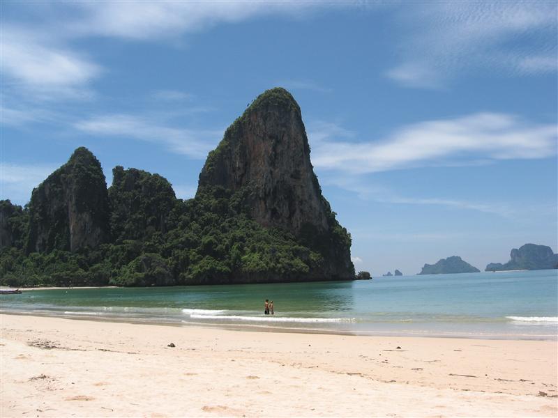 Beach at Phra Nang in Railay