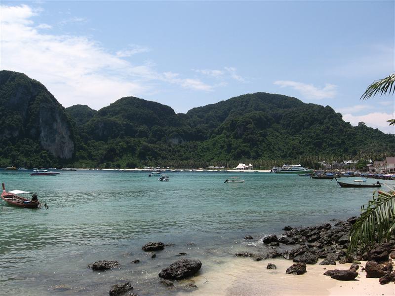 Phi Phi harbour