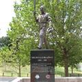 Statue of The Don, outside the MCG