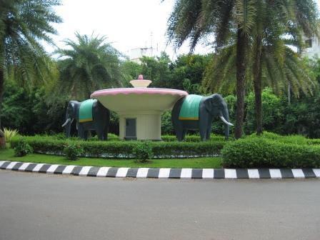 Elephant Circle, Zentrum des Campus