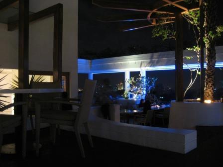 Party Delux ... Dachterasse eines Hotels mit wahsinns Blick über Chennai