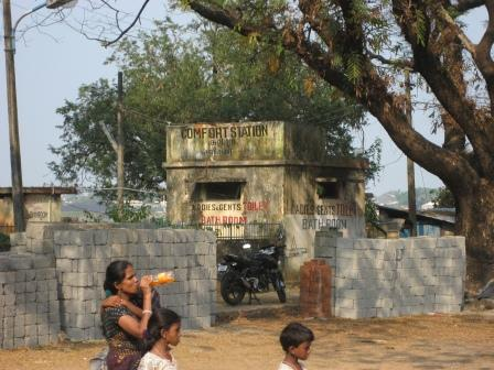 "Jaja was in Indien so alles ""Comfort Station"" heißen darf"