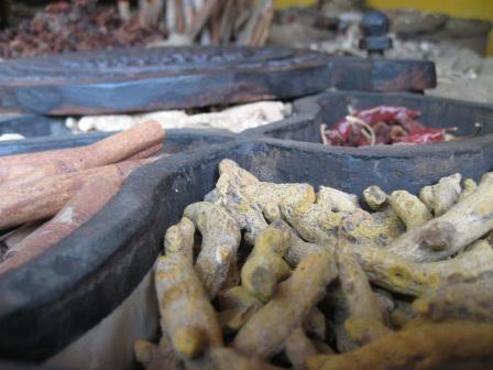 Cochin war wich tiger Handelsposten für Gewürze und die findet man auch noch zu Hauf in der Stadt. Leider mittlerweile zu Touripreisen